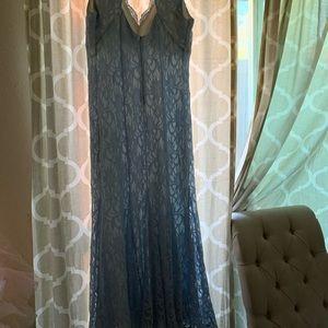 Morgan & Co. Dresses - Baby blue prom dress